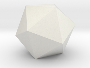 ICOSAHEDRON ELEMENT Dim Conv in White Natural Versatile Plastic