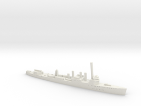 HMS Campbeltown 1:1800 in White Natural Versatile Plastic