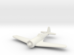 1/200 Curtiss-Wright CW21 B in White Natural Versatile Plastic
