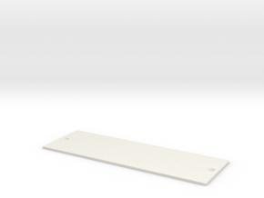 by kelecrea, engraved:                             in White Strong & Flexible