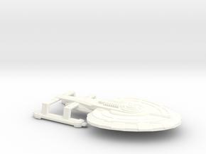 USS Finnerly in White Processed Versatile Plastic