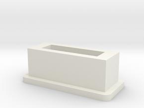 MountingRubber in White Natural Versatile Plastic