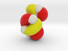 Lowest unoccupied pi-MO (LUMO) of cis-butadiene in Full Color Sandstone