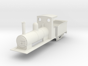 O9 estate loco and tender  in White Natural Versatile Plastic