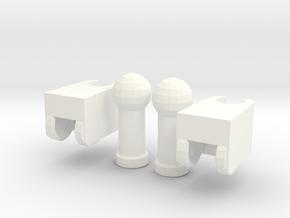 TF:Prime Abominus knee fix in White Processed Versatile Plastic
