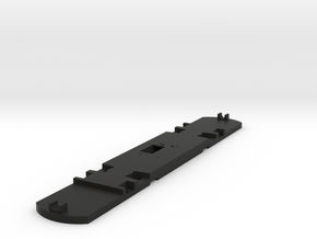 HO Scale Floor for 51' Standard Streetcar in Black Natural Versatile Plastic