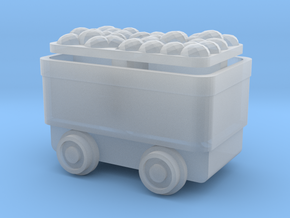 Ore Cart - NN3scale in Frosted Ultra Detail