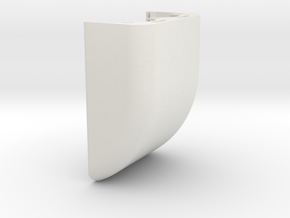 HOUSING COVER in White Natural Versatile Plastic