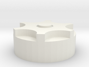 Obi KillKey Top (repaired) in White Natural Versatile Plastic