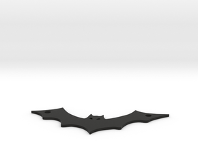 Bat pendant in Black Strong & Flexible