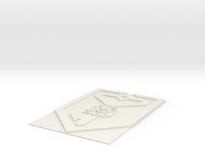 ResKey2 in White Natural Versatile Plastic