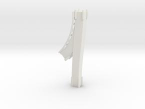 Loopingteil-ROT-hinten-seite.stl in White Natural Versatile Plastic