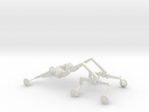 Mars Rover Suspension Arm Pair in White Natural Versatile Plastic