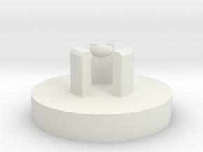 Link JLF U-Cap: Basic in White Strong & Flexible