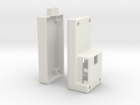 Alexmos Third Axis Controller Stand Alone Housing in White Natural Versatile Plastic