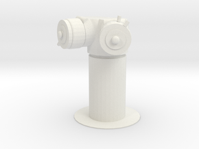 NYC Standpipe in White Natural Versatile Plastic