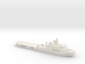 Karel Doorman 1:2400 in White Natural Versatile Plastic