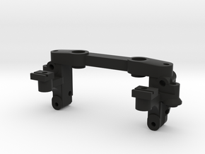 Reactive A-arm mount v3 for Mini-z MR03 in Black Strong & Flexible