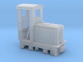 Feldbahn Jung EL105 (Spur 0f) 1:45, geschlossener  in Smooth Fine Detail Plastic