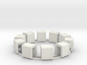 Ring Of Transformers in White Strong & Flexible