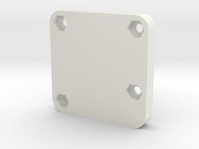 Sparky BGC Case - Bottom -Beta in White Natural Versatile Plastic
