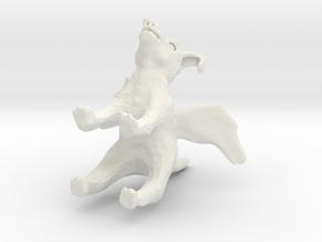 flyin pig in White Strong & Flexible