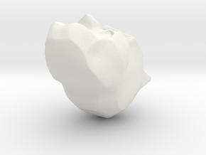 IronBatMan in White Natural Versatile Plastic
