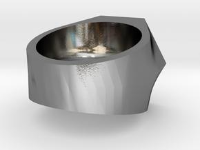 Graduate Ring Model Alt 3-5 Mm in Polished Silver