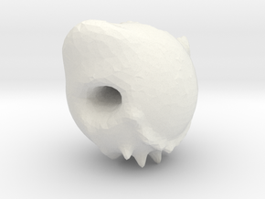 Demon skull in White Strong & Flexible