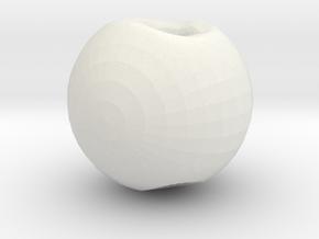 5993 in White Natural Versatile Plastic
