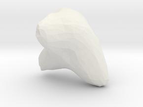 Deformed Love in White Natural Versatile Plastic