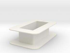 Bobbin1--9-22-13 in White Natural Versatile Plastic