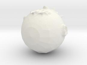 Sirius Man XD in White Natural Versatile Plastic
