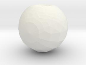 Hole in White Natural Versatile Plastic