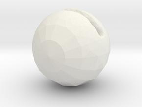 pac man in White Natural Versatile Plastic