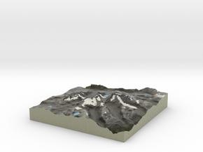Terrafab generated model Fri Sep 27 2013 11:52:51  in Full Color Sandstone