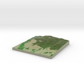 Terrafab generated model Fri Sep 27 2013 15:55:15  in Full Color Sandstone