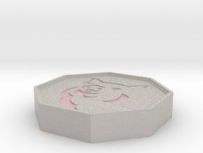 Pig Talisman in Full Color Sandstone