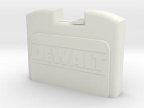 1/10 Scale Cordless Drill Case in White Natural Versatile Plastic