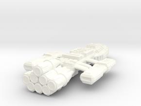 Battlestar Ione in White Processed Versatile Plastic