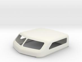 "KW Style 86"" Standup Bunk Cap in White Natural Versatile Plastic"