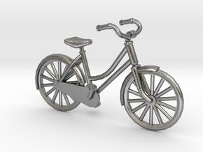 1:48 Vintage Bicycle in Natural Silver