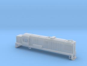 DJ Locomotive, New Zealand, (N Scale, 1:160) in Smooth Fine Detail Plastic