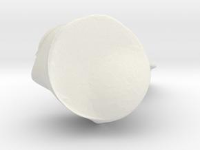 4554 in White Natural Versatile Plastic