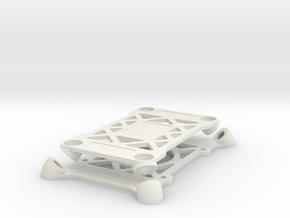 Omnimac Pixhawk Mount V1.1 in White Natural Versatile Plastic