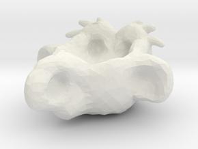 HumanoidCup in White Natural Versatile Plastic
