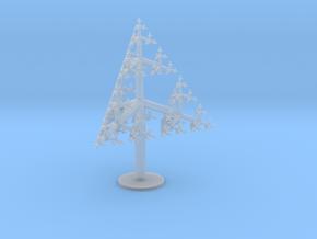 Sierpinski Tree 85mm in Frosted Ultra Detail