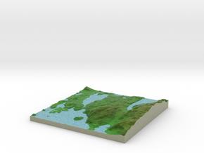 Terrafab generated model Sat Oct 05 2013 11:58:51  in Full Color Sandstone