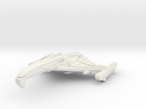JagWing Class BattleCruiser in White Natural Versatile Plastic