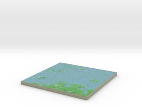 Terrafab generated model Sun Oct 06 2013 20:59:08  in Full Color Sandstone